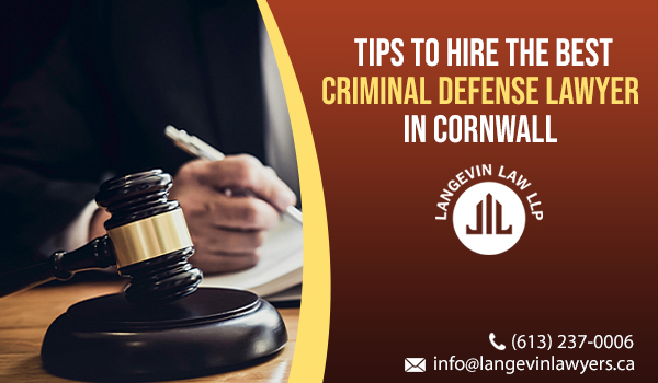 Criminal Defense Lawyer in Cornwall